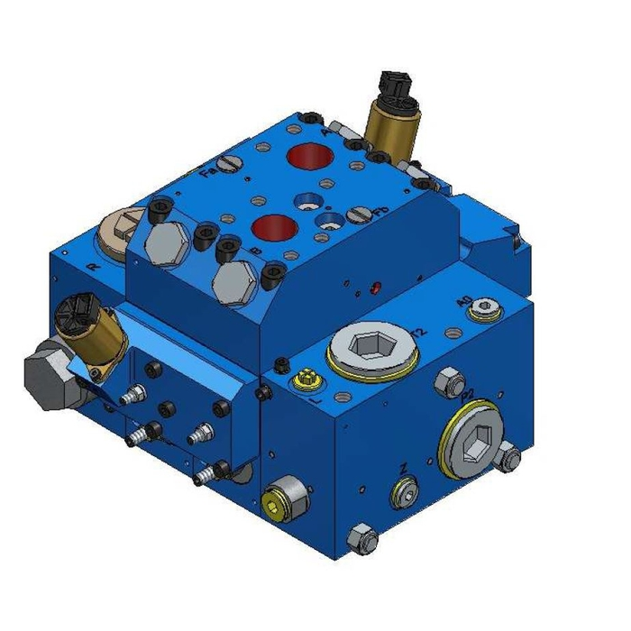 AMCA APV-22-TWIN Series Proportional Directional Control Valve