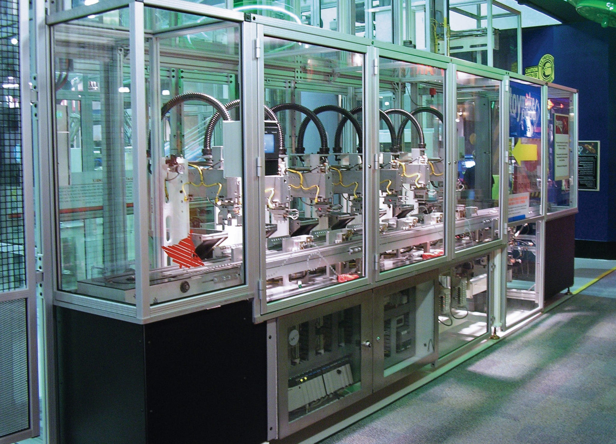 Carolina Fluid Components and 80/20 Machine Guarding